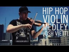 """Frequent long car rides... Add some violin and whaaala it's no big deal. Josh Vietti - """"Hip Hop Violin Medley"""" - YouTube"""