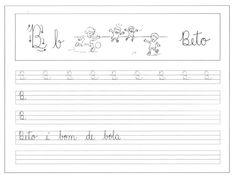 ATIVIDADES PARA TREINAR LETRA CURSIVA   Cantinho do Educador Infantil
