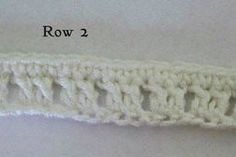 Picture of Beginning the Skirt - Rows 1-4