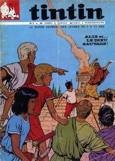 Le Journal de Tintin - Edition Belge - N°  1180 - 1969-17 - Mardi 29 Avril 1969 - Couverture : Jacques Martin