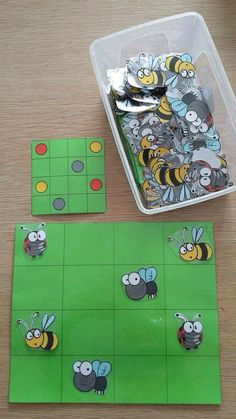 Topologie Idea for spacial awareness? Montessori Activities, Motor Activities, Kindergarten Math, Toddler Activities, Preschool Activities, Insect Activities, Coding For Kids, Math Games, Kids Education
