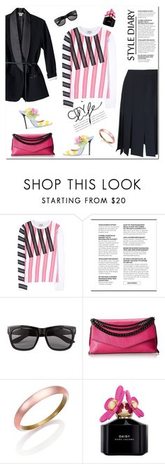 """***"" by drn57 ❤ liked on Polyvore featuring Acne Studios, Vero Moda, Milly, Alexis Bittar and Marc Jacobs"