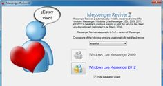 Messenger Reviver, es posible volver a usar Windows Live Messenger http://www.genbeta.com/p/76162