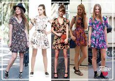 #TattooTrends: verano es nuestro pretexto favorito para vestidos floreados