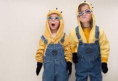 Divertido disfraz de minion, encuéntralos en http://www.1001consejos.com/disfraz-de-minion
