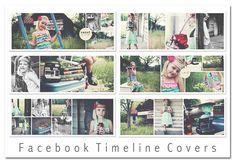 freebie set of six facebook timeline covers