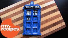 Doctor Who TARDIS Cookie