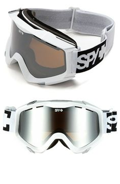 fd588c69a1 SPY Optic  Zed  Mirrored Snow Goggles available at  Nordstrom Masque Ski