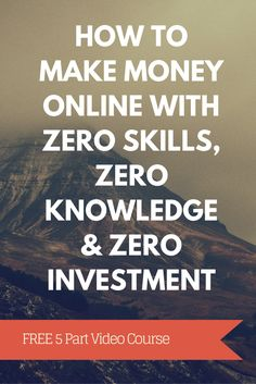 Want to start an online business but worried you don't have the money or skills to do it? Let me show you how you can!