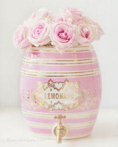 Pink Roses Lemonade