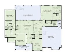 69 best House plans images on Pinterest | House floor plans ...