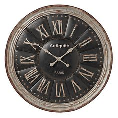 Z Gallerie - Harper Wall Clock  For the kitchen