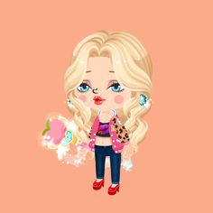Its an amazing app! Its called mini! And all you do is make avatars. boys, girls, and animals!