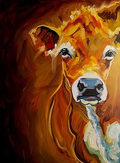 Love Cow by Diane Whitehead
