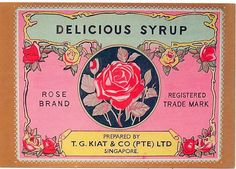 Rose Brand Delicious Syrup