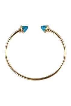 Spike Cuff:  Royalty Bracelet by Top It Off: Vibrant Jewelry Shop on @HauteLook