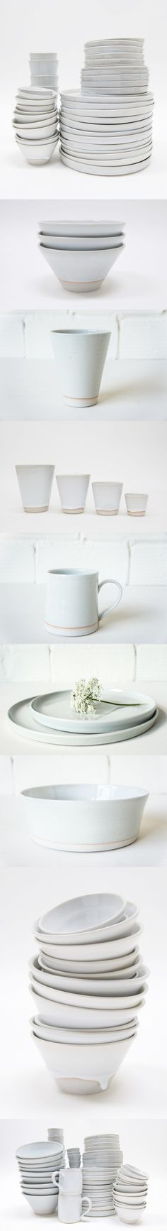 Japanese-Style Tableware Made in LA by Izabella Simmons [http://www.remodelista.com/posts/west-river-field-lab-white-ceramics-by-nobuhito-nishigawara-in-los-angeles]
