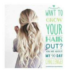 With It Works hair skin and nails you can grow your hair to the length you want it! check out my site www.hatliewraps16.itworks,com for more details.