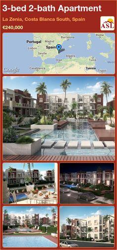 3-bed 2-bath Apartment in La Zenia, Costa Blanca South, Spain ►€240,000 #PropertyForSaleInSpain