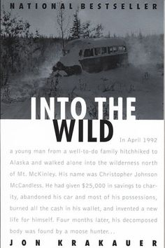 """""""The true account of Christopher McCandless' journey into the Alaskan frontier is as harrowing as it is tragic. It might seem a little ironic to read a mountain book whilst chillin' on the beach, but hey, it's cultural contrast. Plus, solid life lessons aren't learned by just simply laying out in the sun."""" - Hayden Manders, assistant entertainment editorInto The Wild by Jon Krakauer, $8.44, available at Amazon."""