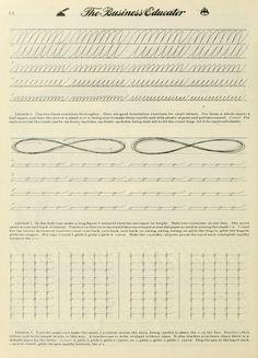 Calligraphy Worksheet, Calligraphy Handwriting, Penmanship, Caligraphy, Modern Calligraphy, Hand Lettering Practice, Calligraphy Practice, Writing Cursive, Handwriting Exercises