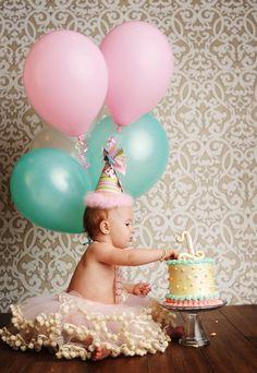 Primeiro aniversário do baby. #bebê #foto #álbum