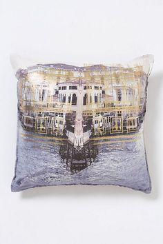 Grand Canal Square Pillow - Anthropologie.com