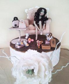 Torte di compleanno per adulti - Muffinworld scarpe e borse in pasta di zucchero  Birthday cake sugarpaste Handbags and shoes