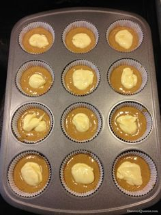52 Weeks of Pinterest: Week 15 – Cheesecake Filled Carrot Cake Cupcakes with Cream Cheese Frosting! Photo