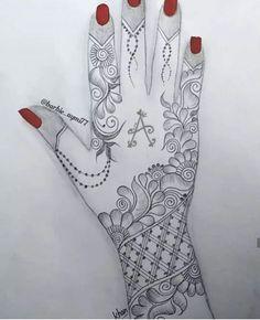 # Màríyà khàñ 😍 À 😘 Henna Hand Designs, Dulhan Mehndi Designs, Mehndi Designs Finger, Mehendi, Floral Henna Designs, Latest Bridal Mehndi Designs, Latest Arabic Mehndi Designs, Full Hand Mehndi Designs, Mehndi Designs 2018
