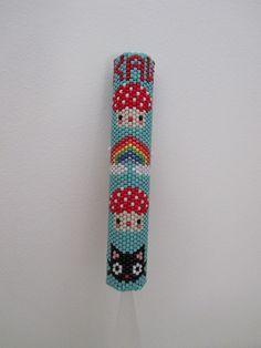 Kawaii Beaded Needle Case