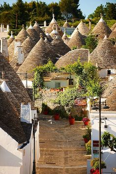Alberobello is a small town and comune in the province of Bari, in Puglia, Italy. Places Around The World, Oh The Places You'll Go, Travel Around The World, Places To Travel, Places To Visit, Around The Worlds, Wonderful Places, Beautiful Places, Cities In Italy