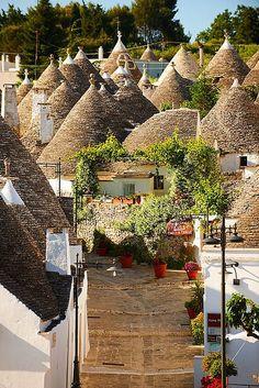 Alberobello is a small town and comune in the province of Bari, in Puglia, Italy.