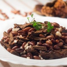 Hearty Slow-Cooked Beef and Beans