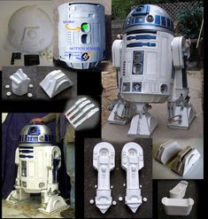 Astromech Kit Parts - Prop Replicas, Custom Fabrication, SPECIAL EFFECTS