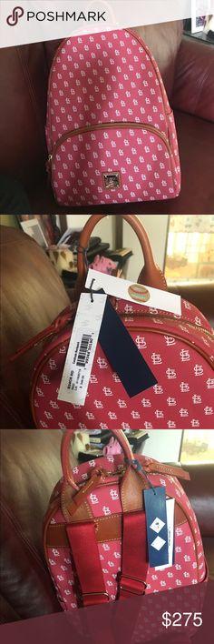 New Dooney & Bourke St. Louis Cardinals Backpack Brand New Dooney & Bourke St. Louis Cardinals Backpack.   Never used Dooney & Bourke Bags Backpacks