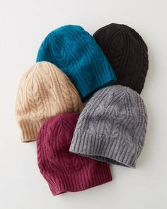 Lightweight yarn and subtle pointelle stitching give our incredibly soft cashmere hat a stylish dose of cozy. Offered in a sophisticated line-up of colors.