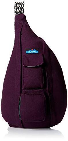 KAVU Rope Bag, Purple Velvet, One Size KAVU $50 http://www.amazon.com/dp/B00INZ19G8/ref=cm_sw_r_pi_dp_54ICub1A5WSMT