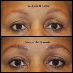 Another example of the healing fading process!! #clientsforlife 404-348-4456 #atlanta #heidicosmetictattoo #microblading #spcp #cpcp #microbladingatlanta  #realism #browdiaries #eyebrowtattoo #brows #hairstrokes #alopecia #eyebrows  #trichotillomania #inkedgirls #autoimmunedisease #hairloss #thyroid #drjohnconnors #changinglives @johnconnorsmdplasticsurgery