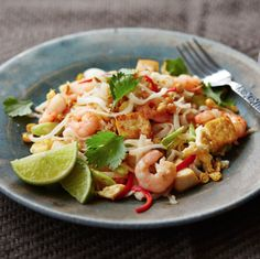 Special diets shouldn't mean you miss out on fakeaway fun. This delicious Pad Thai is packed with the same classic sweet, sour, salty and chilli flavours, but simply swaps out traditional noodles for gluten-free rice noodles.