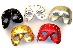 Masquerade Glitz - For the Guys.