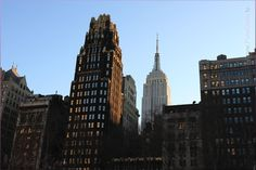New York City with Empire State Building – beautiful NYC, Manhattan