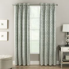 La Tour Pleated Grommet Panel