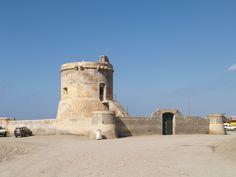 Torre Vigia Antiguo Cuartel Guardia Civil Cabo de Gata-Almeria #gtravelpl #costaalmeria