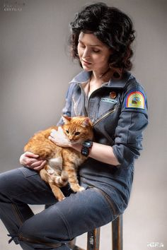 No Ripley Cosplay Is Complete Without A Cat