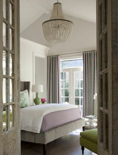 Master Inspiration: bear-hill interiors soothing sophisticated bedroom
