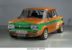 NSU Prinz TT 1967-1971, orange, old car, vintage car, 1960s, sixties, 1970s, seventies