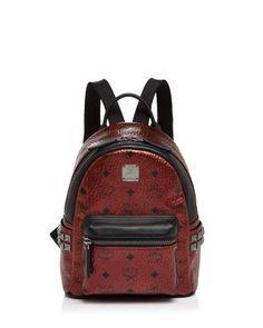 99c97baeea00 MCM Stark Metallic Mini Backpack