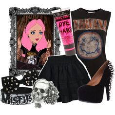 """""""Punk Disney: Alice"""" by the-disney-girl on Polyvore"""