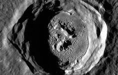 "Mercury ""Kertesz Crater"". Photo: NASA Mercury Messenger."
